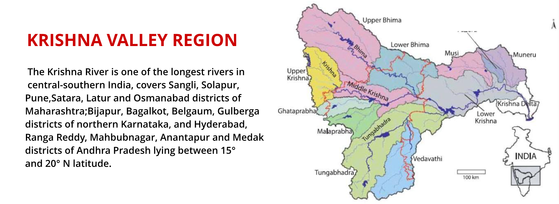 Krishna Valley Region
