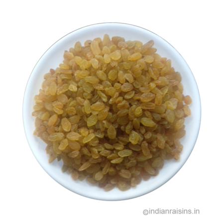 Yellow Sangli Type IV Grade A Standard Round Raisins (RYS001)